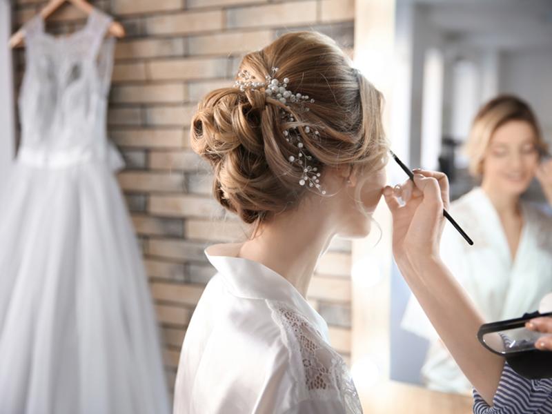 mariée, maquillage, Femini Styl', institut de beauté spa, 85290, Mortagne sur Sèvre, Vendée